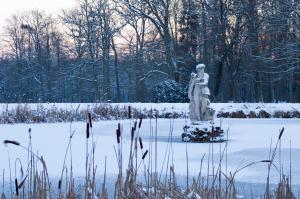 Schloss Fasanerie - Teich