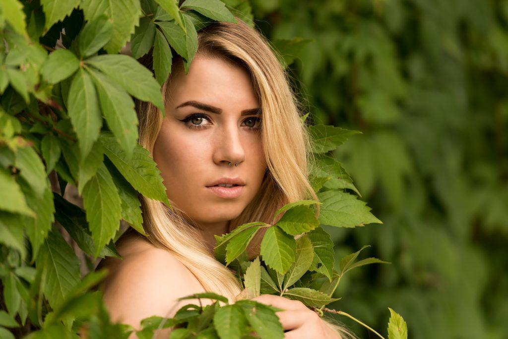 Portrait im Grünen